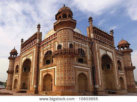 Panorama of Humayuns Tomb, Delhi.