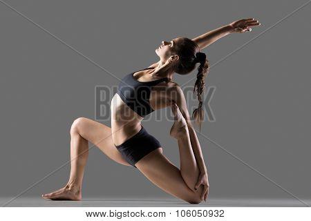 Eka Pada Rajakapotasana Ii Yoga Pose