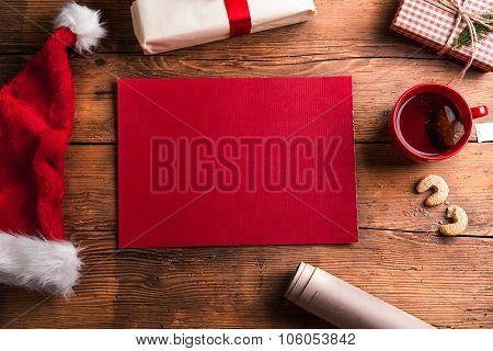 Empty wishlist for Santa