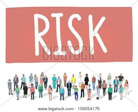 Risk Dangerous Hazzard Gamble Unsure Concept