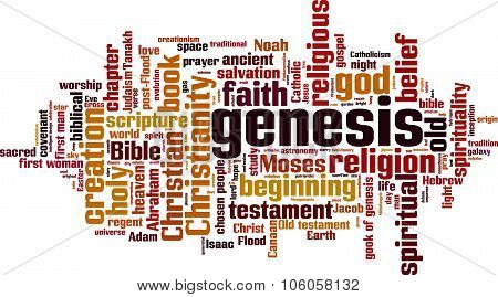 Genesis Word Cloud