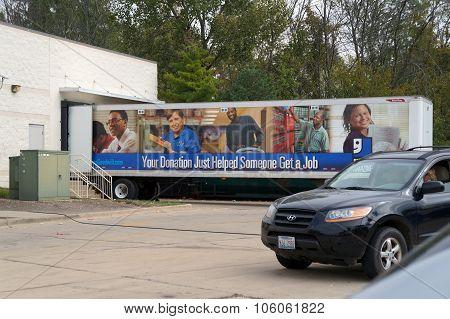 Goodwill Truck