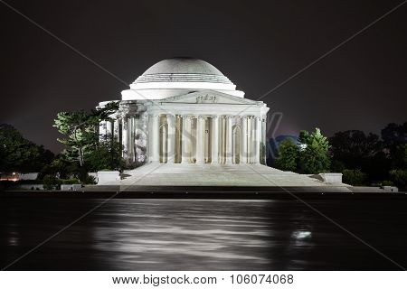 Jefferson Memorial At Night, Washington DC