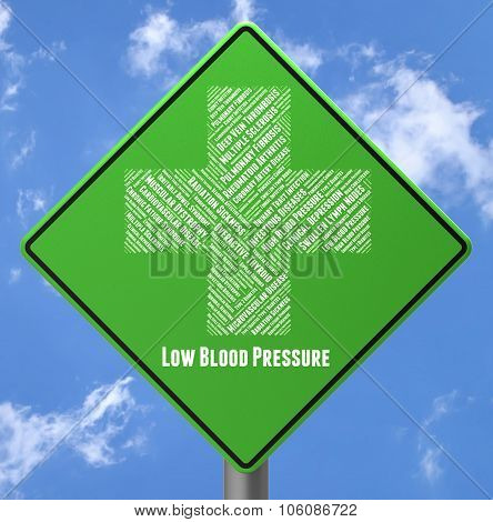 Low Blood Pressure Represents Poor Health And Advertisement