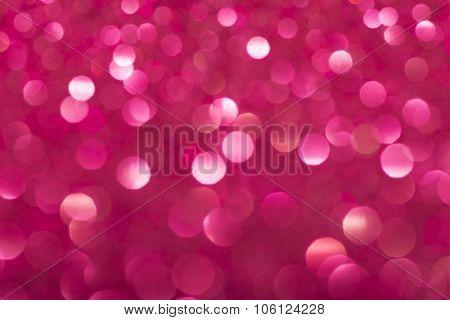 Defocused Vintage Pink Shiny Lights