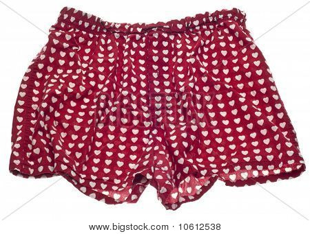 Sexy Men Heart Boxer Shorts