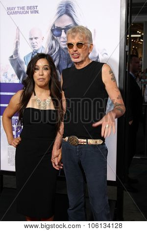 LOS ANGELES - OCT 26:  Connie Angland, Billy Bob Thornton at the