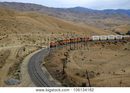 Freight Train, Sierra Nevada Range
