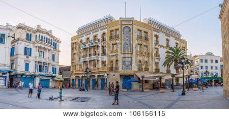 The Tunisian Mansion