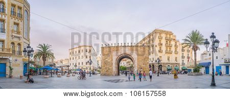Panorama Of The Square