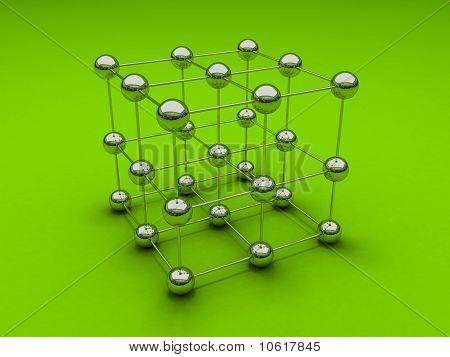 Chromium cube