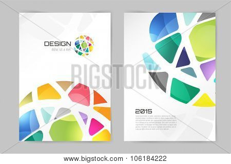 Abstract brochure or flyer design template. Book design, blank, print design, journal. Brochure vector. Brochure template. Flyer design. Flyer template. Brochure abstract design. Brochure background