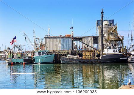 Fishing Processor Westport Grays Harbor Washington State