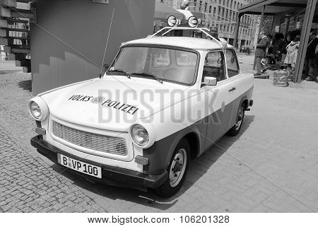 Famous Trabant police car