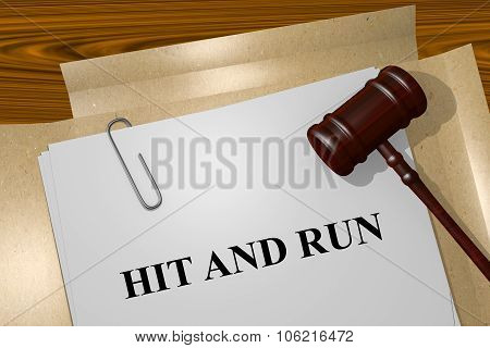 Hit And Run Concept