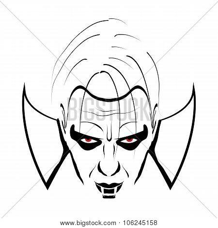 Dracula black & white