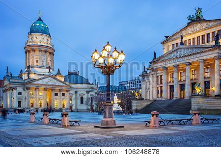 Gendarmenmarkt square in Berlin, Germany