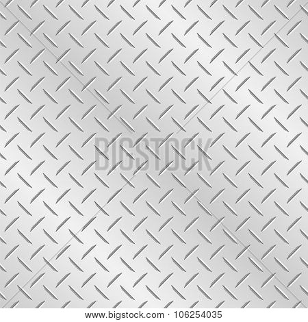 Chequer Plate Metal Background