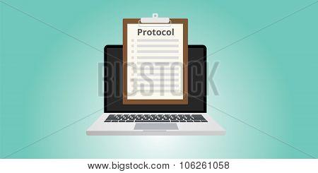 protocol concept rules