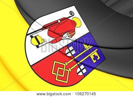Flag Of Krefeld (north Rhine-westphalia), Germany.