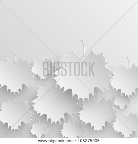Autumn Leaves Background Design Pattern