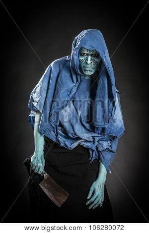 zombie Halloween masquerade