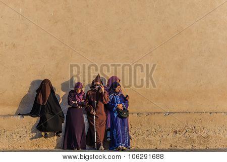 Essaouira, Morocco - Circa September 2015 - Arabic Traditionally