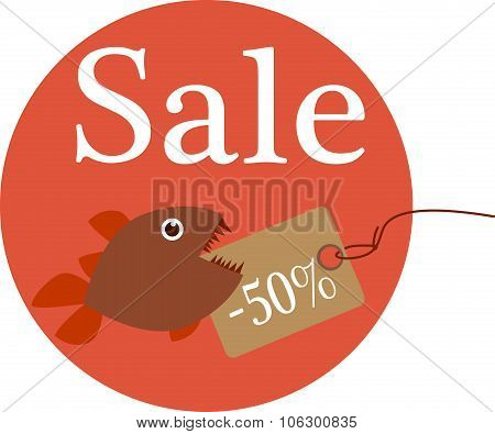 Discount price tag
