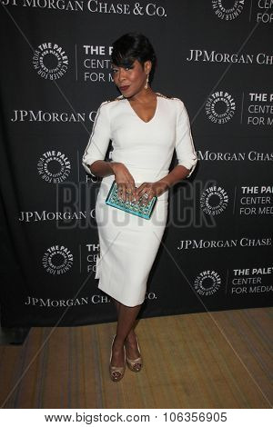 LOS ANGELES - OCT 26:  Tichina Arnold at the Paley Center's Hollywood Tribute to African-Americans in TV at the Beverly Wilshire Hotel on October 26, 2015 in Beverly Hills, CA