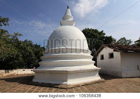 Mulkirigala Southern Sri Lanka's magnificent Rock Temple Complex. poster