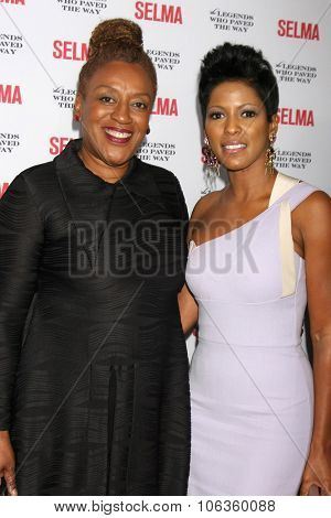 SANTA BARBARA - DEC 6:  CCH Pounder, Tamara Hall at the