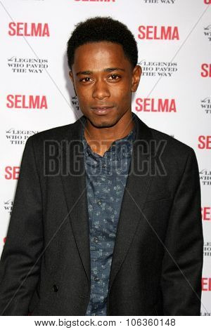 SANTA BARBARA - DEC 6:  Keith Stanfield at the