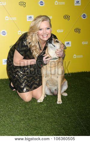 LOS ANGELES - JAN 10:  Melissa Peterman, Janet at the CW Network presents