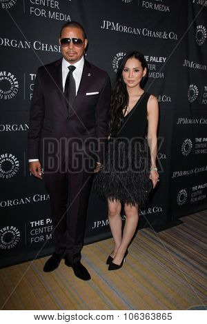 LOS ANGELES - OCT 26:  Terrence Howard, Miranda Howard at the Paley Center's Hollywood Tribute to African-Americans in TV at the Beverly Wilshire Hotel on October 26, 2015 in Beverly Hills, CA
