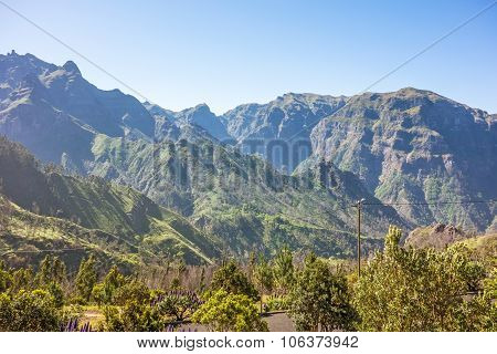Madeira Mountain Landscape