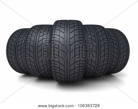 Five Tire Car