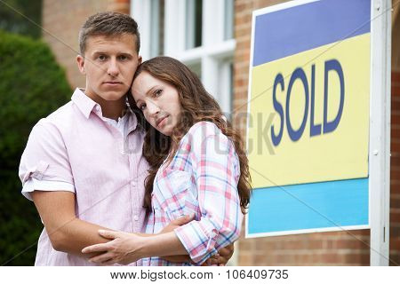 Young Couple Forced To Sell Home Through Financial Problems poster