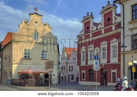 Historic Houses, Tabor, Czech Republic