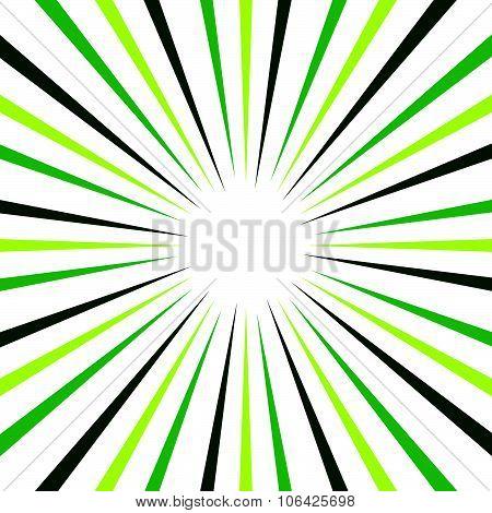 Abstract Background With Radiating Lines. Sunburst, Startburst Background.