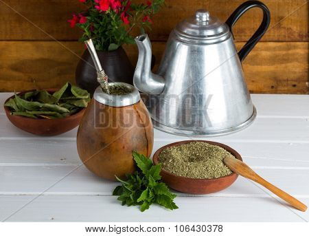Yerba Mate Traditional Latinamerican Tea