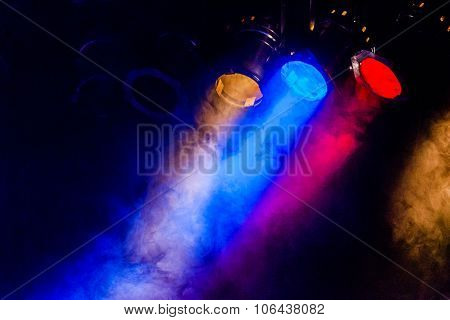 Image Of Real Concert Lighting