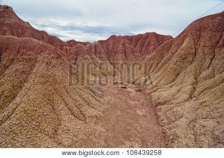 Martian Terrain - Sand Canyon Of Tatacoa Desert