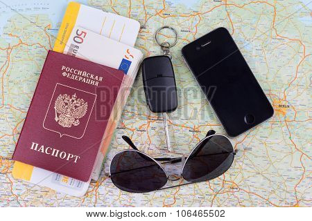 Airline Tickets And Travel Passport