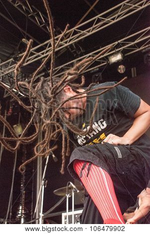 Nonpoint live at Soundwave Festival in Brisbane
