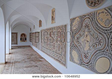 Mosaic museum in El Jem, Tunisia