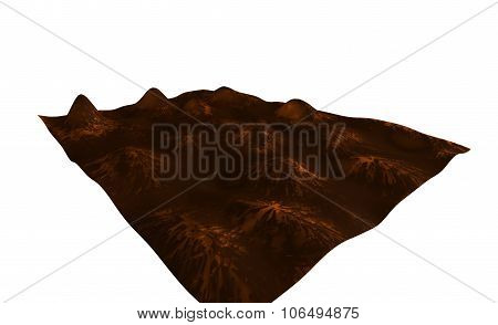 abstract relief surface