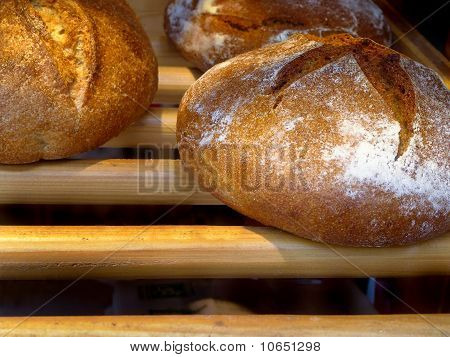 French Bread At A Bakery In Paris