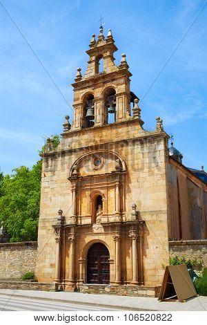 Cacabelos El Bierzo by Saint James Way in Leon at Castilla Spain