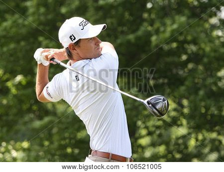 Jason Scrivener  (aus) At  The Golf French Open 2015
