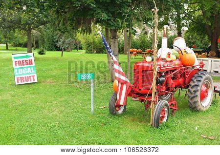 Mccormick Farmall Super A Tractor
